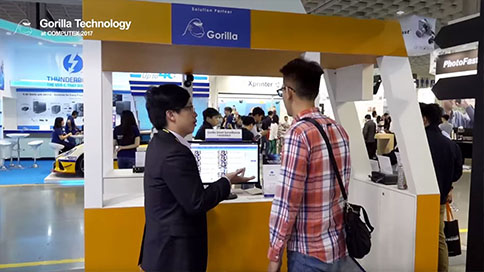 image of COMPUTEX 2017 Gorilla Technology Booth Tour